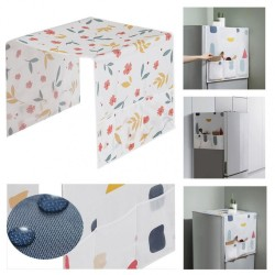 Waterproof Refrigerator Dust Cover Household Freezer Top Bag Fridge Storage