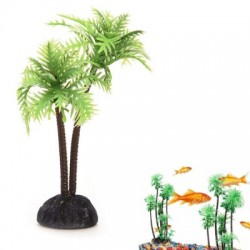 Aquarium Coconut Trees Fish Tank Plants Decoration