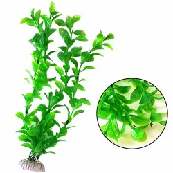 Ornament Artificial Green Plant Grass Fish Tank Aquarium Fake Plastic Decor