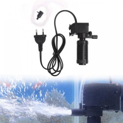 Mini 3 In 1 Aquarium Internal Filter Fish Tank Oxygen Submersible Pump 3w