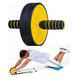 Double Ab Wheel Roller
