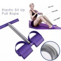 Sit Up Pull Rope Spring Tension Foot Pedal