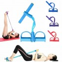 Fitness Tube Resistance Bands Latex Pedal