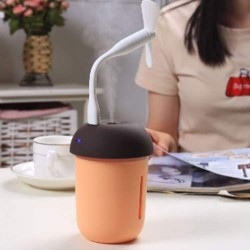 3 in 1 Multi-function USB Charge Mushroom Shape Humidifier