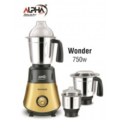 Alpha Home Mixer & Grinder Wonder 750 watt | sajilokart dot com
