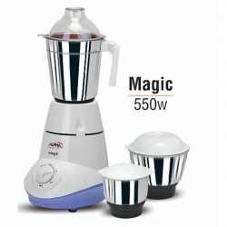 Alpha Home Mixer & Grinder Magic 550 watt 3 Jar