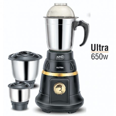 Alpha Home Mixer & Grinder Ultra 650 watt | sajilokart dot com
