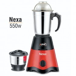 Alpha Home Mixer & Grinder Nexa 550watt 2 jar