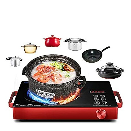 Infrared Cooker - Electronic Cooktop - 2000W - Hoffmans