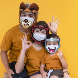 3 Pcs Face Mask