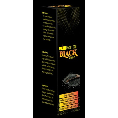 Hair oil Black Seed