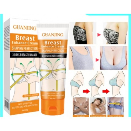 Guanjing Breast Enhance Cream Shaping Perfection 3 Days Fast Effective 80g