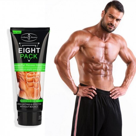 Eight Packs For Men Muscle Cream Smooth Waist Lines Burn Belly Muscle Fat Remove Weight Loss