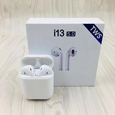 I13 TWS BLUETOOTH EARPHONE TOUCH CONTROL WIRELESS AIRPODS