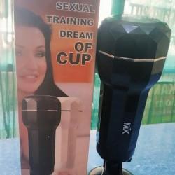 Sexual Training Dream Of Cup-Suction Cup Men Masturbator
