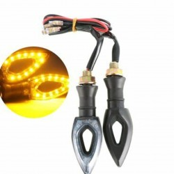 2Pcs Motorcycle Led Side Light