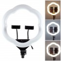 LC-368 Ring Lamp Plum Blossom Shaped Dimmable Photography Ring Fill Light
