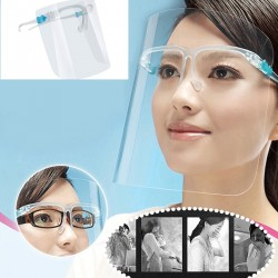 Face Shield with Goggles - 5 Pcs Set