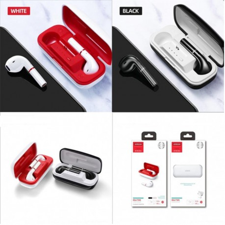 JOYROOM T06 Mini TWS Earbuds Touch Control Bluetooth 5.0 Earbuds Sports Earbuds With Mic Charging Case For All Smartphones