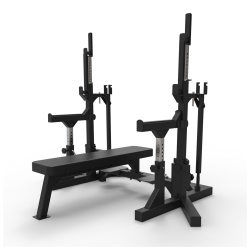 Squat Rack with pull up bar Iron Bull
