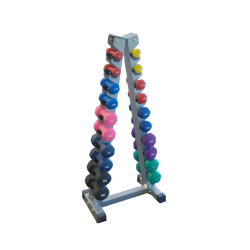 VINYL DUMBBELL RACK SET